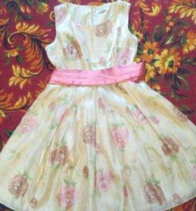 Летнее нарядное платье