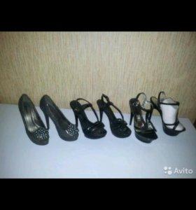 Красивые модные туфли 35 размер