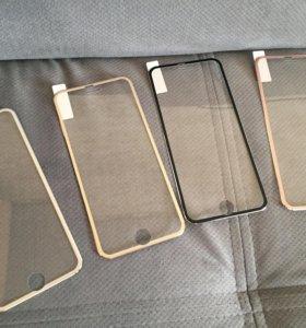 Защитные 3D стекла iPhone 6, 6s, 7