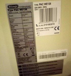DeLonghi PAC we126 кондиционер напольный