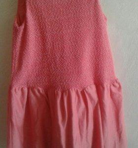 Платье 130см