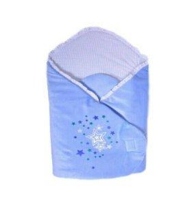 Одеяло-конверт на липучке Эдельвейс