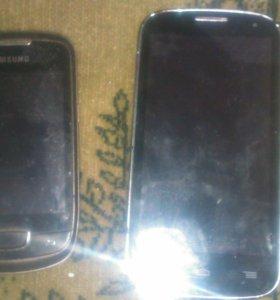 2 телефона на запчасти
