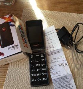 Мобильный телефон TEXET TM-B206
