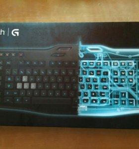 Игровая клавиатура Logitech G105 с подсветкой