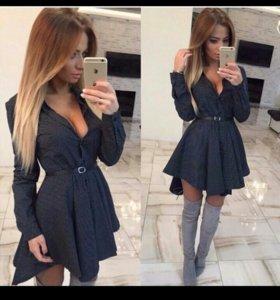 Платье-рубашка (новое)