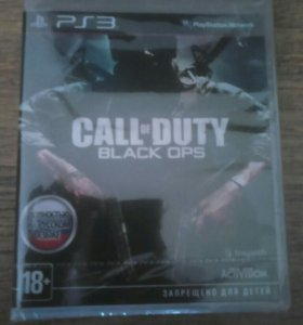 Ps 3 диск Call DUTY