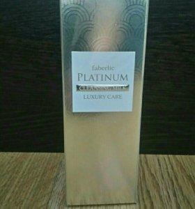 очищающее увлажняющее молочко faberlic platinum