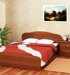 """Кровать """"Злата"""" с Орт. Основанием"""