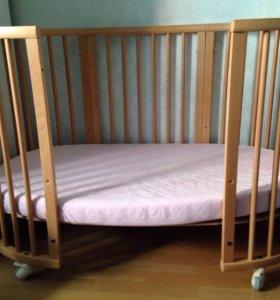Кровать Stokke кроватка люлька