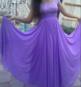Красивое вечернее платье)
