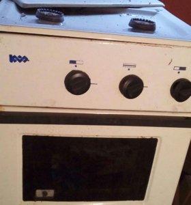 Газовая двухконфорочная печка
