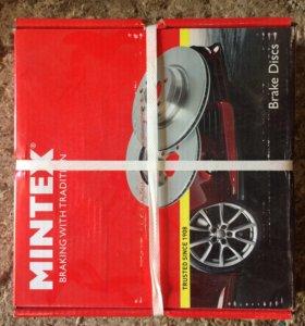 Диск тормозной передний вентилируемый Mintex