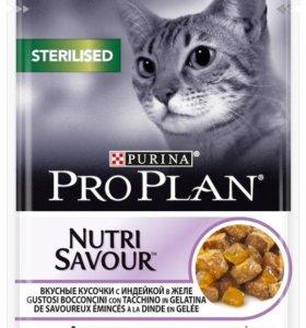 PRO PLAN® для стер.кошек влажный