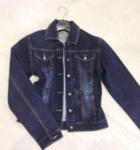 Джинс курточка новая