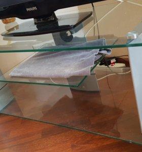 Столик стеклянный под телевизор