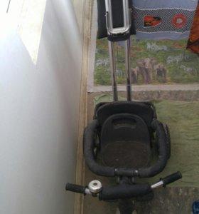 Детский велосипед и детский стульчик