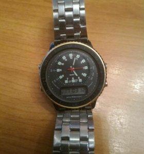 Часы Hong Kong двойная индикация