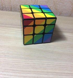Радужный кубик Рубика