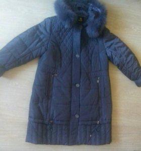 Пальто зимнее очень теплое