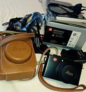 Фотоаппарат Leica D-Lux 6 с оригинальным чехлом