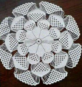 Ажурная 3D салфетка