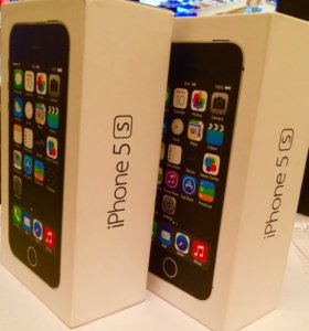 Коробка iPhone 5s