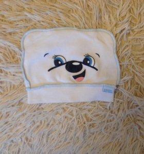 Детская шапочка с 0-3 мес