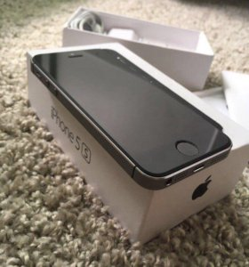 iPhone 5s, 16Gb, space gray