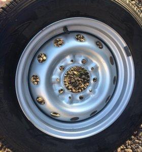 Комплект шины с дисками лето