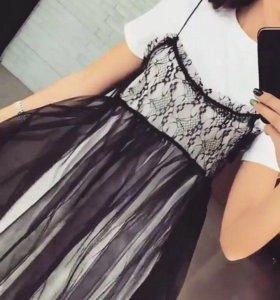 Оригинальное стильное платье