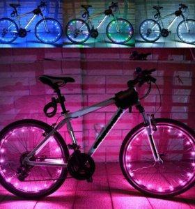 Светодиоды на колесо велосипеда 20 диодов