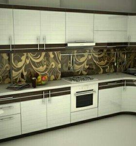 Кухонный гарнитур эмаль арт0090