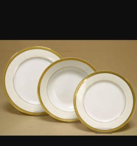 Тарелки блюдца