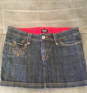Юбка джинсовая D&G