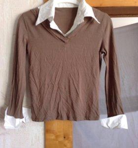 Блузка новая 44-46/М трикотаж