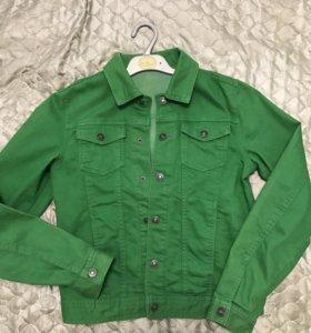 Benetton джинсовая курточка