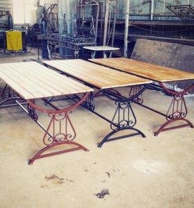 """Кованые столы """"Лира"""""""