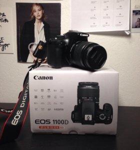 Срочно продаю зеркальный фотоаппарат Canon 1100D