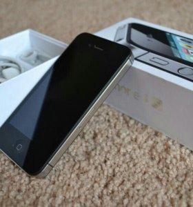 Продаю iPhone 4S black 16 gb