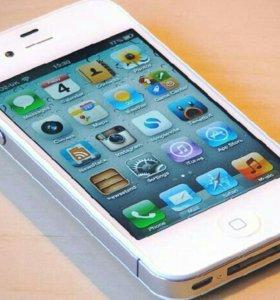 Продаю iPhone 4s white 16 gb