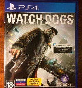 Watch Dogs 1 для PS4 (обмен, продажа)