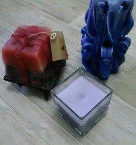 Декоративные свечи (за 3 шт)