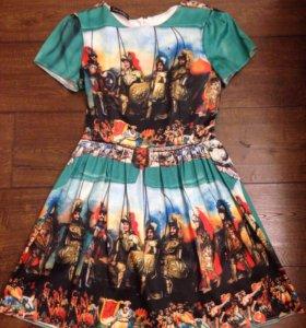 Платье в стиле DG