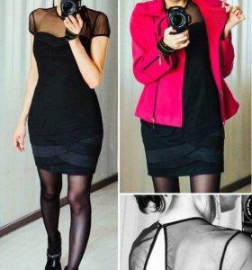 Черное платье М