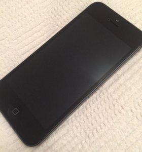 iPhone 5 black 16 gb хорошее состояние