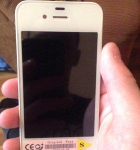 Дисплей на iPhone 4 s