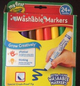 Фломастеры для малышей Crayola,Крайола