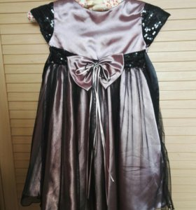 Нарядное платье на худенькую девочку