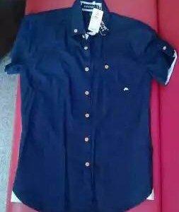 Рубашка мужская, 46 размер